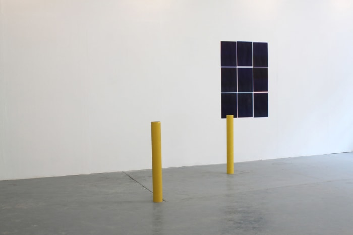 Paperplane - Occupy Space Limerick (Installation view) by Caline Aoun