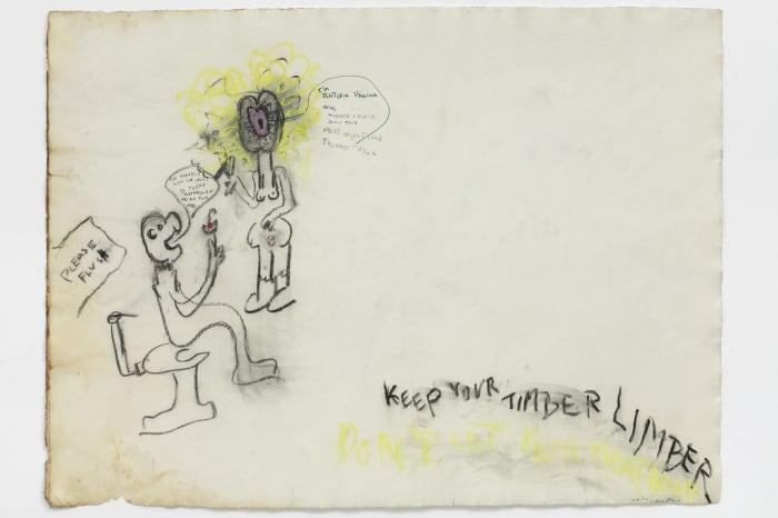 KEEP YOUR TIMBER LIMBER by Judith Bernstein