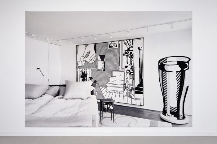 Backdrop. Bed room by Goshka Macuga