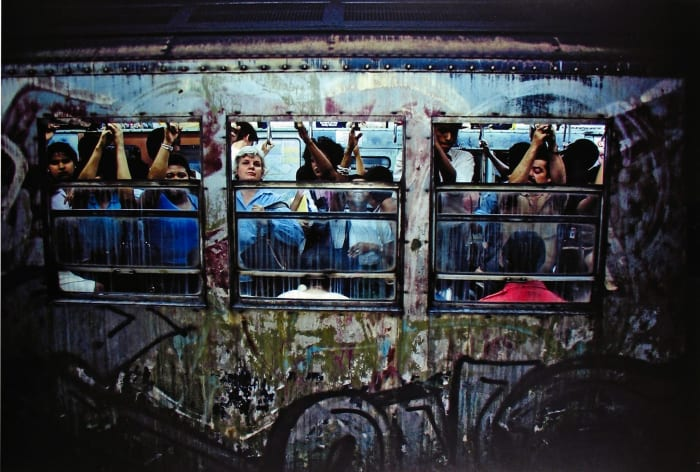Untitled, Subway, New York by Bruce Davidson