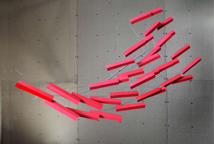 Red Wedge by Tim Prentice