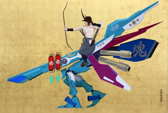 Japanese Spirit #16 by Hisashi Tenmyouya