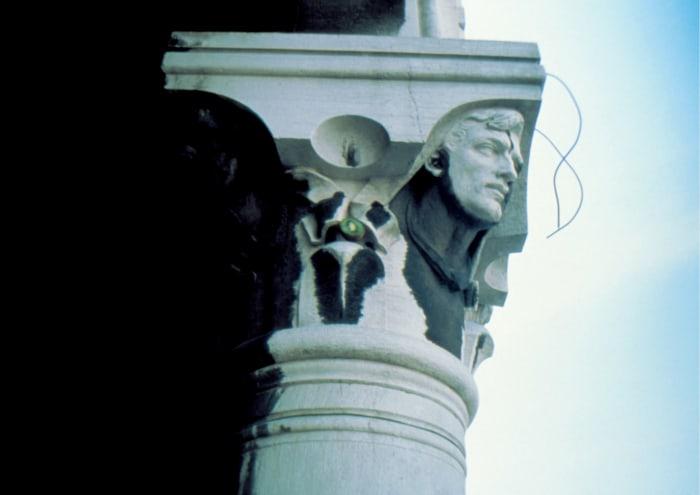 Kiwi Column by Gabriel Orozco
