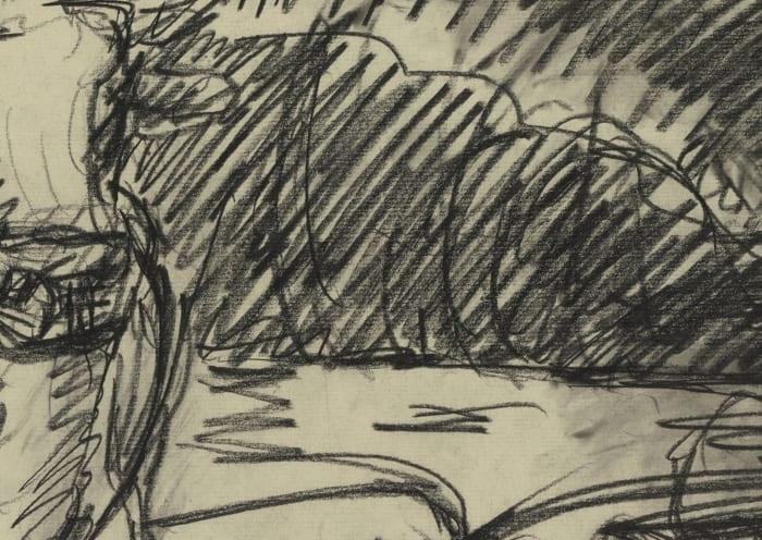 Kühe by Georg Baselitz