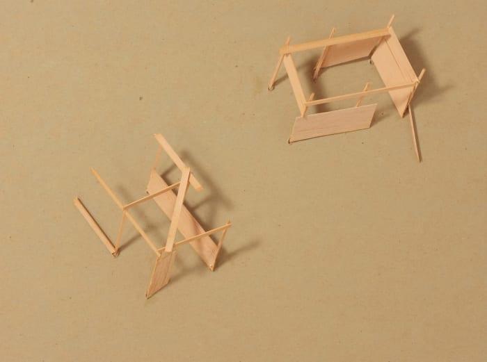Field Work Esquisse A-30 by Tadashi Kawamata