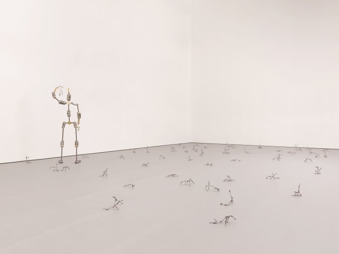 Potent motif of ambition (Dramaturgical framework for structure and stability) by Ryan Gander