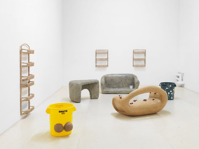"""Installation View, """"Taster's Choice,"""" curated by Christopher Lew at MoMA PS1 by Nancy Lupo"""