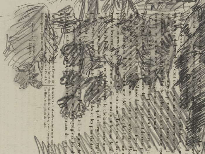 Wacholderbüsche by Georg Baselitz