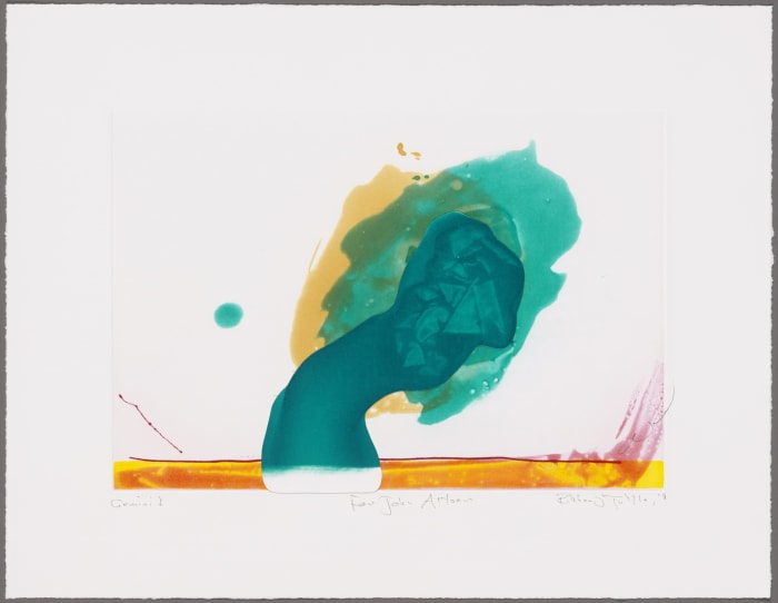 For John Altoon by Richard Tuttle