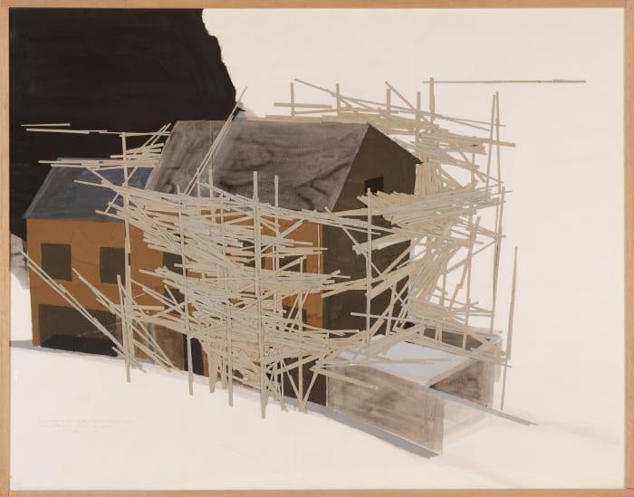 La Maison des Squatters, Grenoble Plan F-3 by Tadashi Kawamata