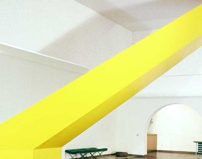 Untitled (yellow) by Robert Grosvenor