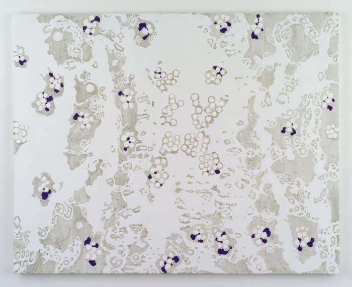 (Center and Behind - Background Color Reversed - I) by Natsuyuki Nakanishi