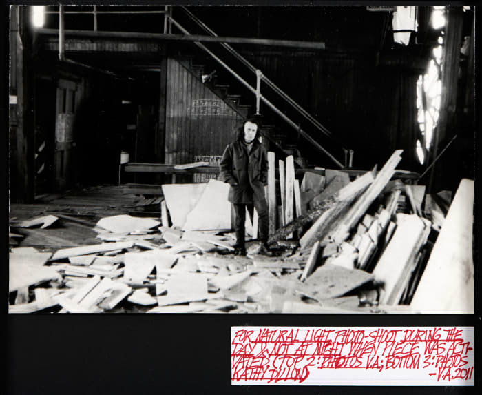 Untitled, Project for Pier 17 by Vito Acconci