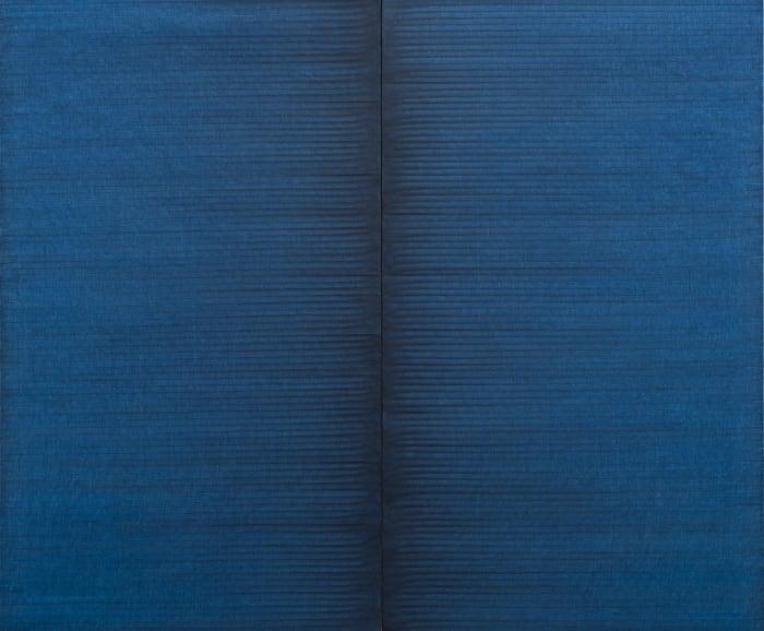 Radical Writings, Schrift-Atem-Bild, 4-6-88 by Irma Blank