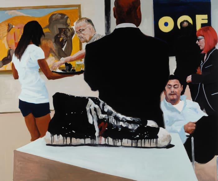 Art Fair: Booth #15 OOF by Eric Fischl