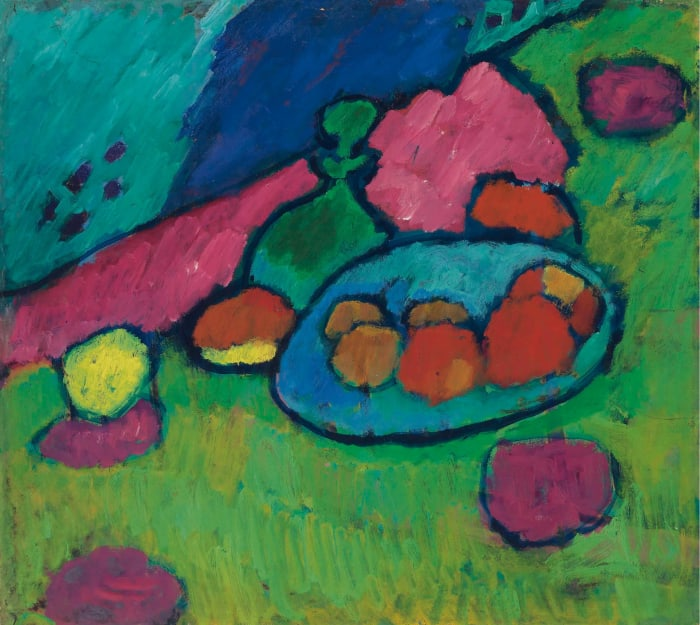 'Still Life with Bowl of Fruit' by Alexej von Jawlensky