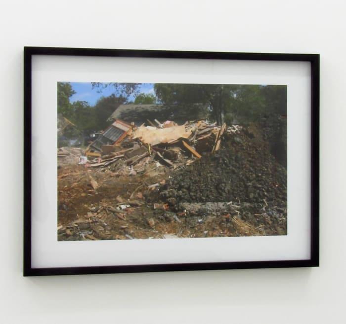Buried House by Lara Almarcegui