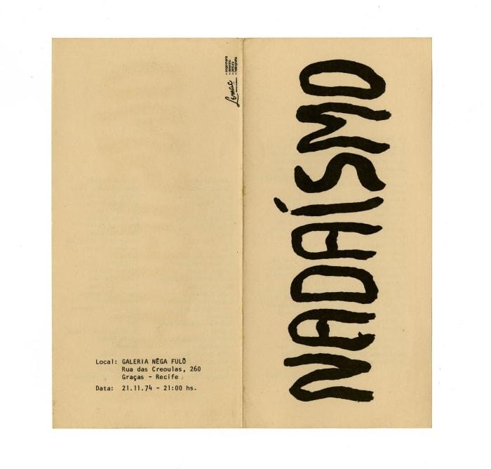 Nadaísmo by Paulo Bruscky