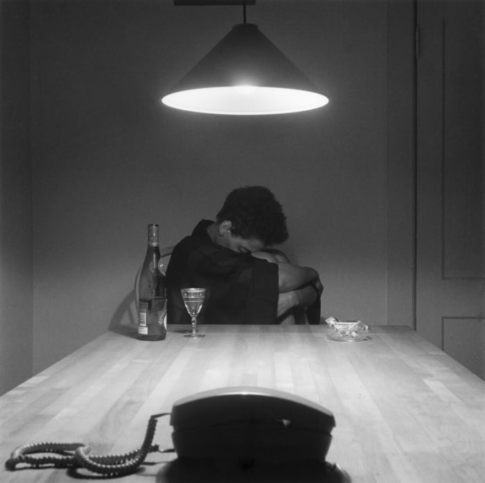 Untitled (Woman and Phone) by Carrie Mae Weems
