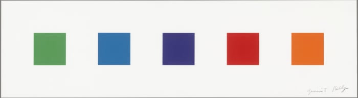 Color Squares 2 by Ellsworth Kelly