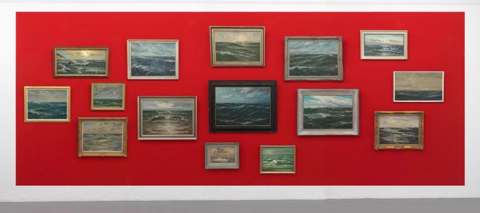 Sea Paintings by Hans-Peter Feldmann