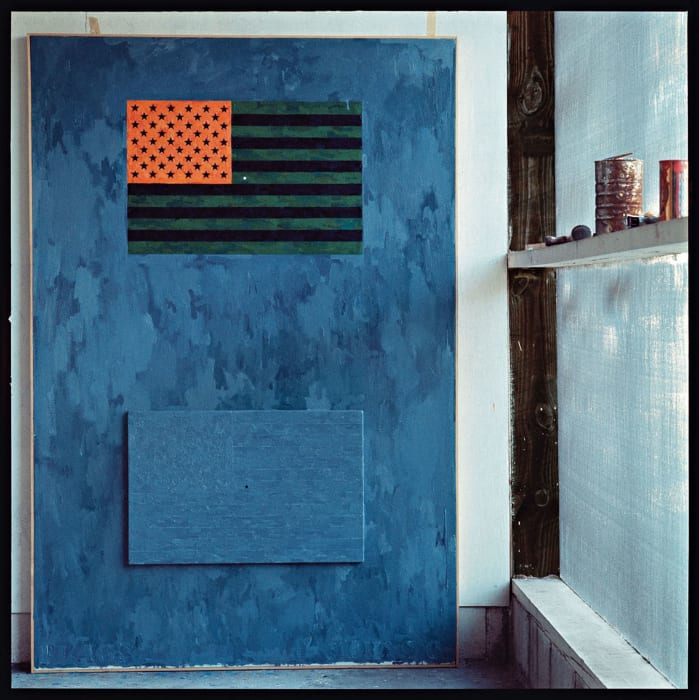 Jasper Johns, Edisto Beach by Ugo Mulas