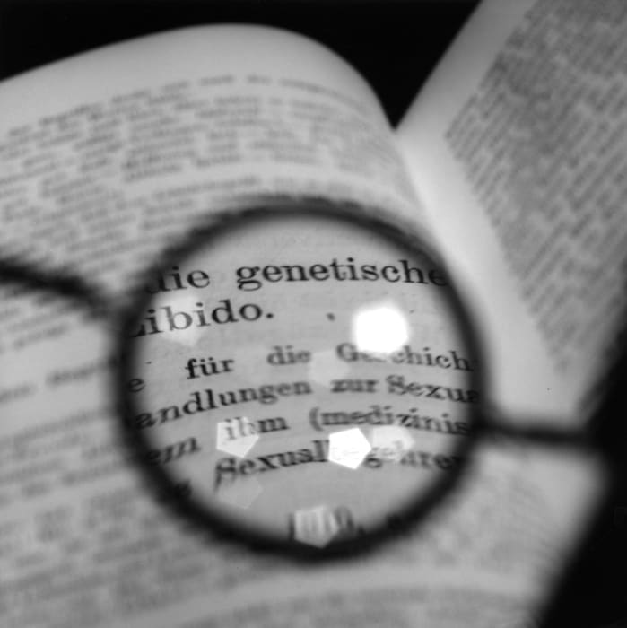 Freud's Glasses - Viewing a text by Jung II by Tomoko Yoneda