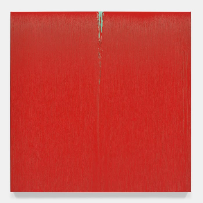 Red for Hong Kong by Pat Steir
