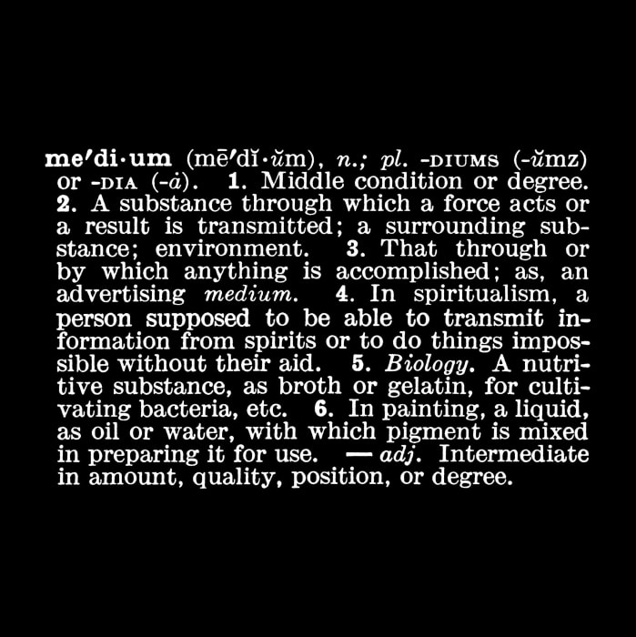 'Titled (Art as Idea as Idea)' [medium] by Joseph Kosuth