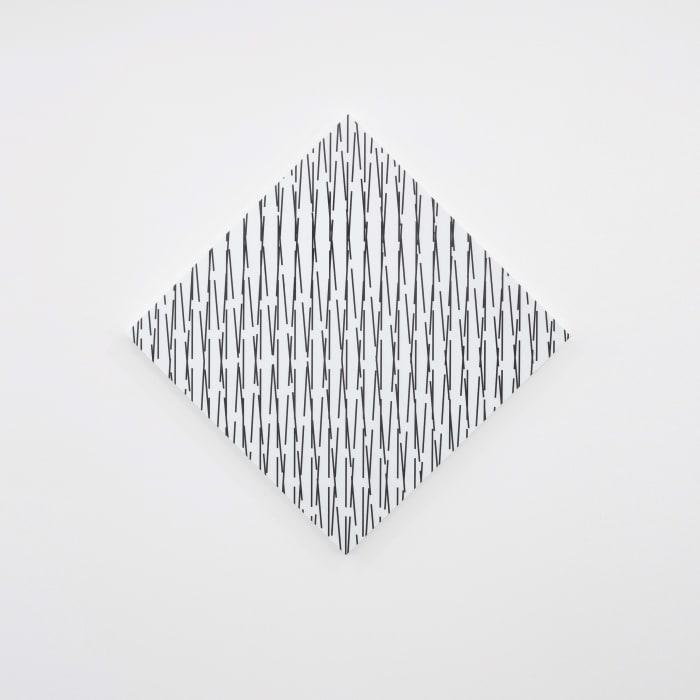 3D concertant n°25: 85°-90°-87° by François Morellet