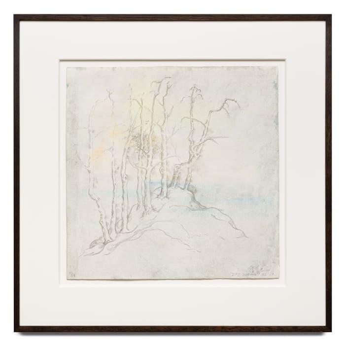 Autumn River 秋岸图 by Zeng Fanzhi