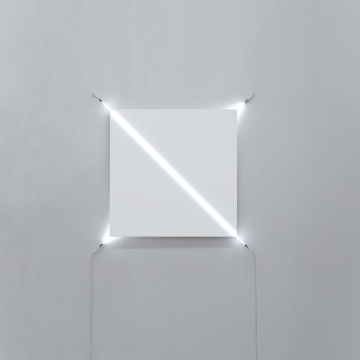 Sens dessus dessous n°2 by François Morellet
