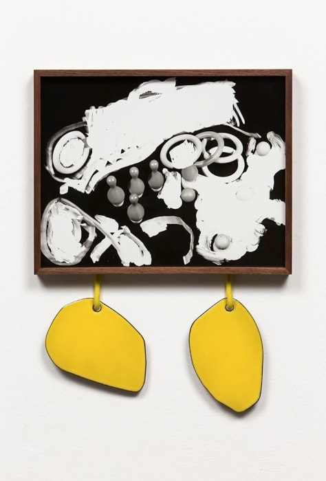Untitled (Ring Toss) by Elad Lassry