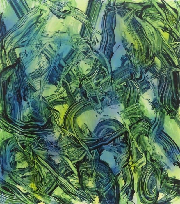 Psychosomatic Painting IV by Judy Millar