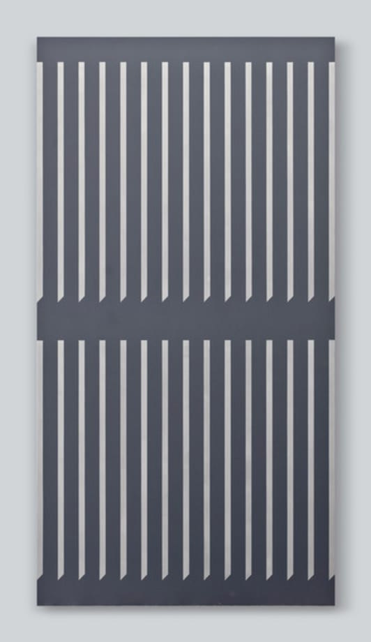 Untitled (clôture) by Nick Oberthaler