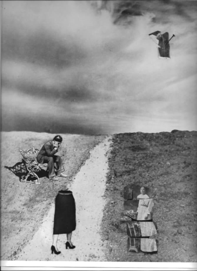 Dream Nº 46 Estrangement by Grete Stern