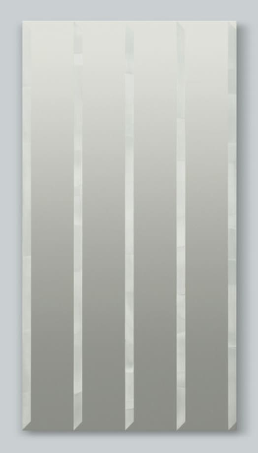 Untitled (silver) by Nick Oberthaler