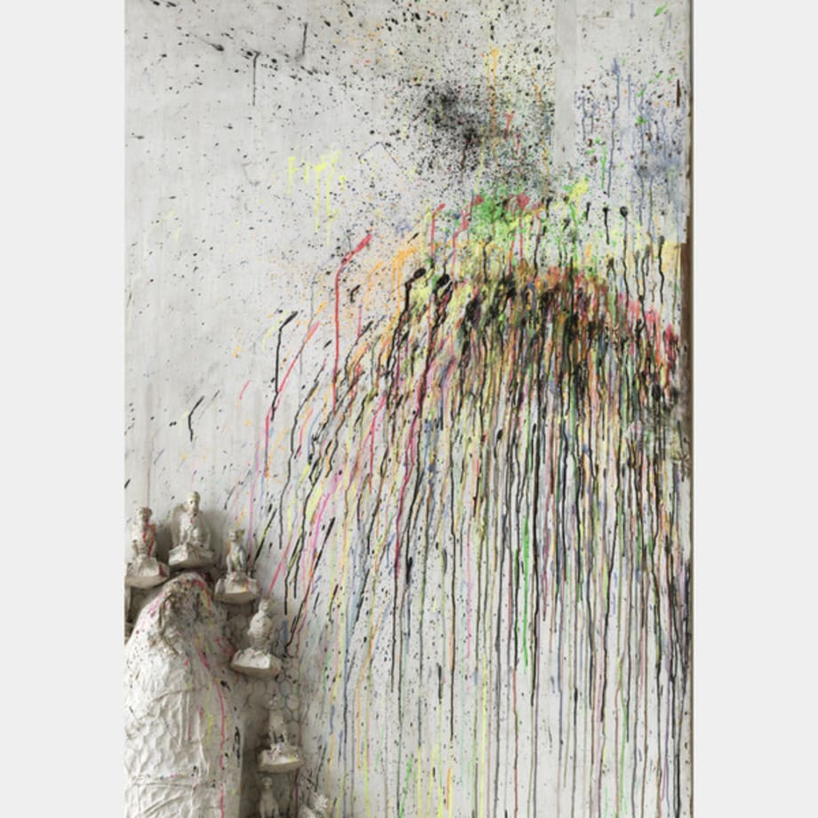 Fragment de l'Hommage au Facteur Cheval (detail) by Niki de Saint Phalle