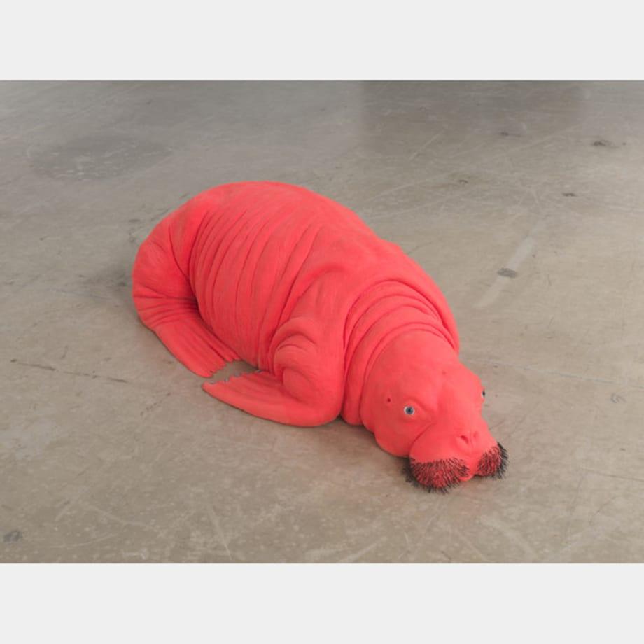 Red Walrus by Carsten Höller
