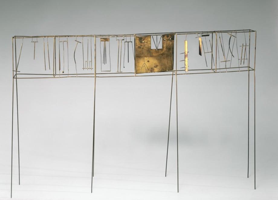 Contrappunto secco by Fausto Melotti