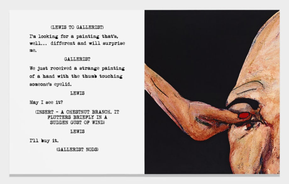Movie Scripts / Art: And will surprise me by John Baldessari