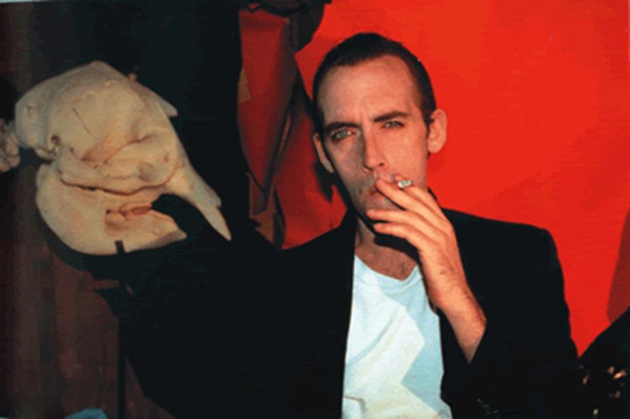 David Wojnarowicz at Home, NYC, 1990 by Nan Goldin