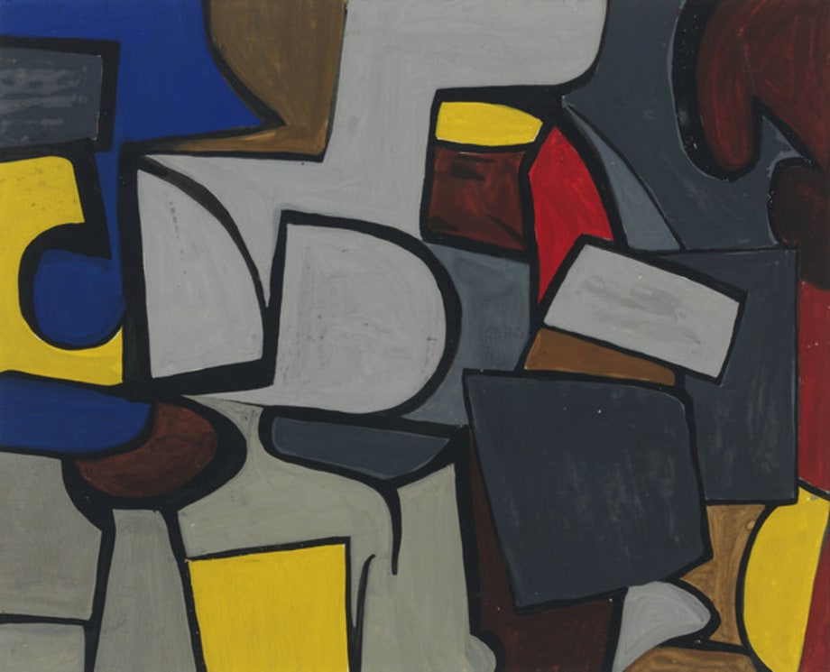 Untitled Composition by Judith Rothschild