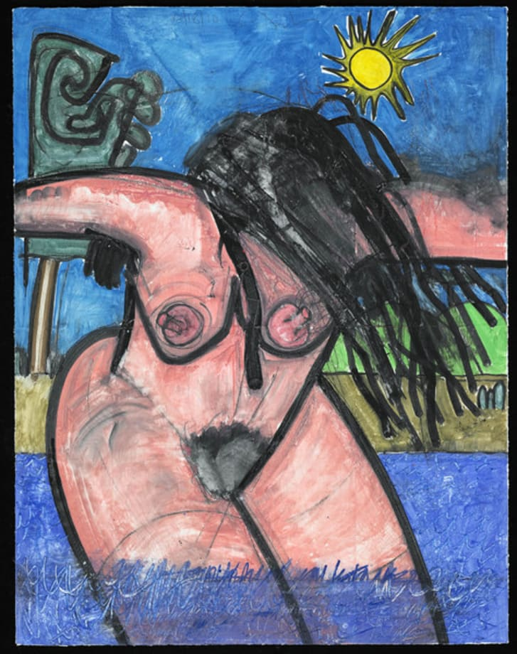 Untitled, 10/18/10 by Carroll Dunham
