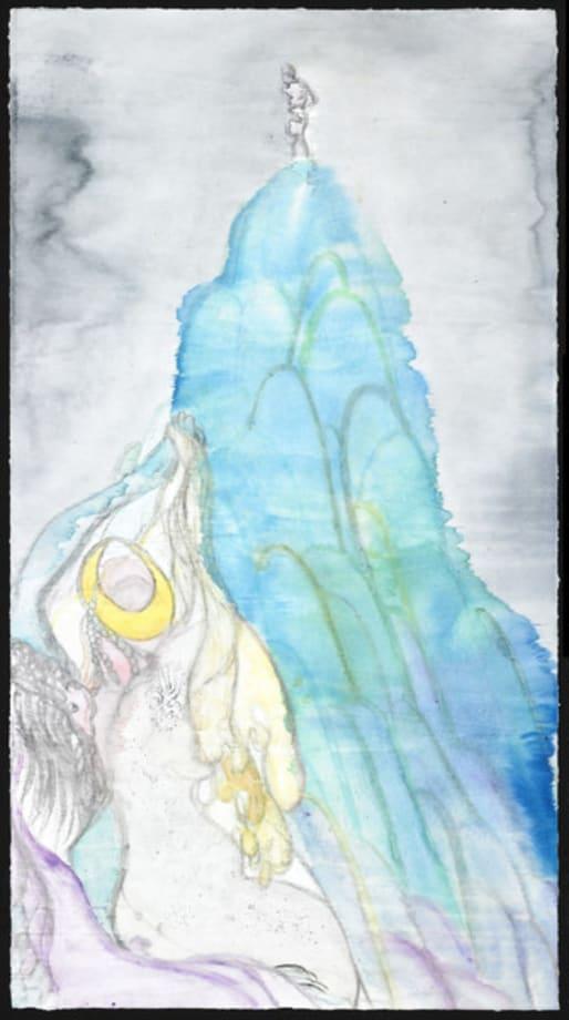 Voyeur, Crocale's Embrace 5 by Chris Ofili