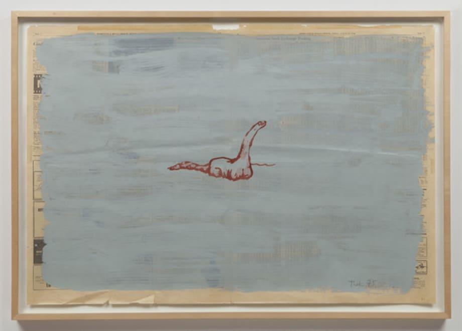 Untitled (Dinosaur) by Paul Thek