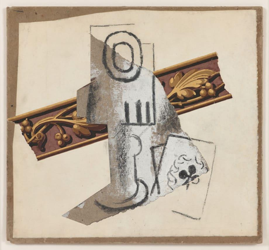 Verre et Carte à Jouer by Pablo Picasso