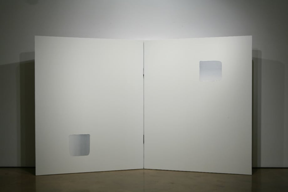 Dialogue (Diptych) by Lee Ufan