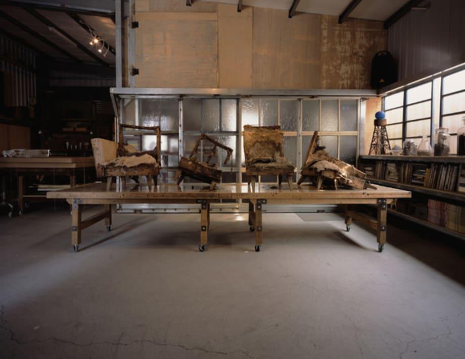 Antiquity-Like Rubbish Research & Development Syndicate : Sofa Prototype Test Drive #1 by Wei-Li Yeh