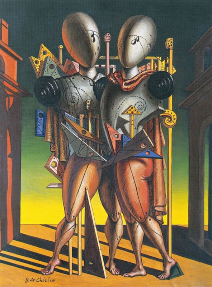 Ettore e Andromaca by Giorgio de Chirico